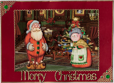 Holi Special Claus Santa Ho Brings A Mrs