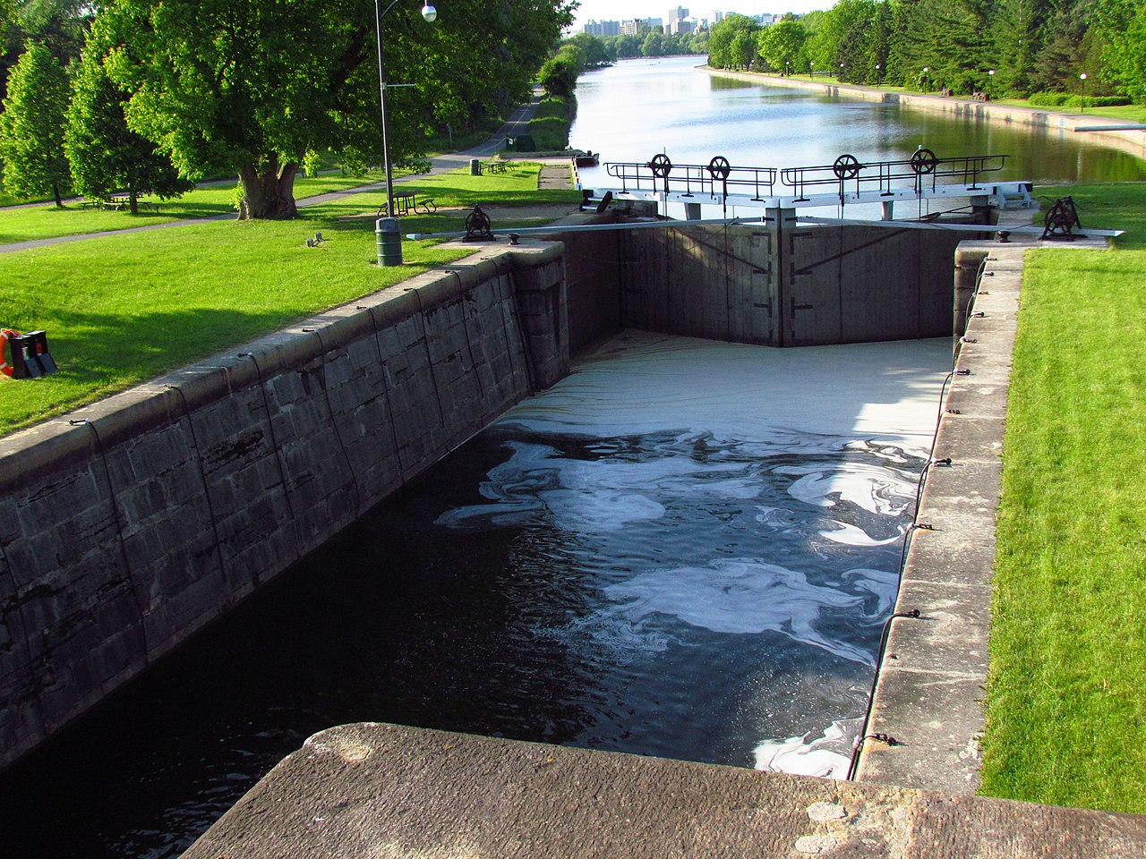 Rideau Canal And Locks