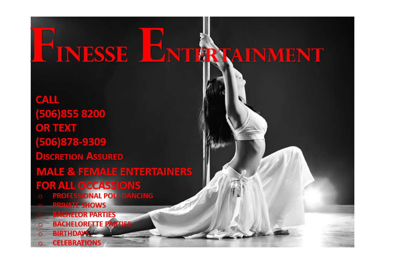 Natura Escort Finesse Entertainment Halifax