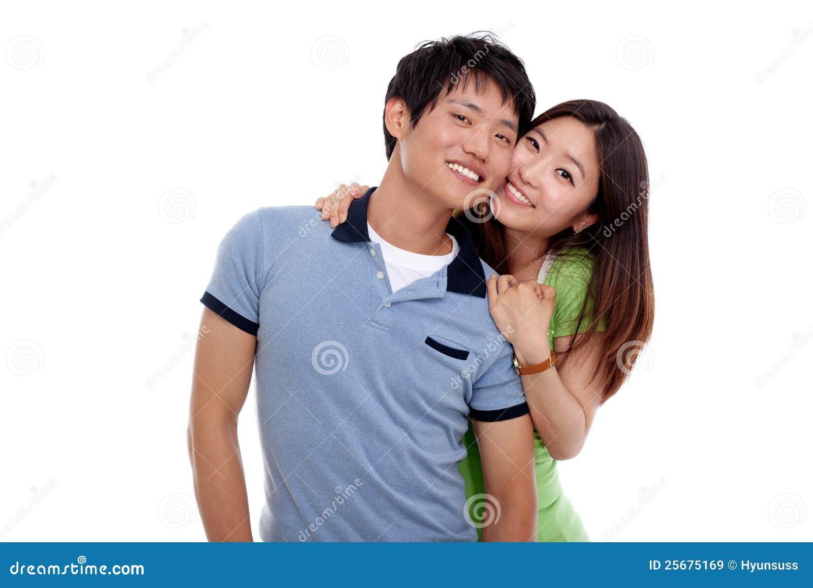 Reno Couple Asian Manhattan Couple 4 White Only
