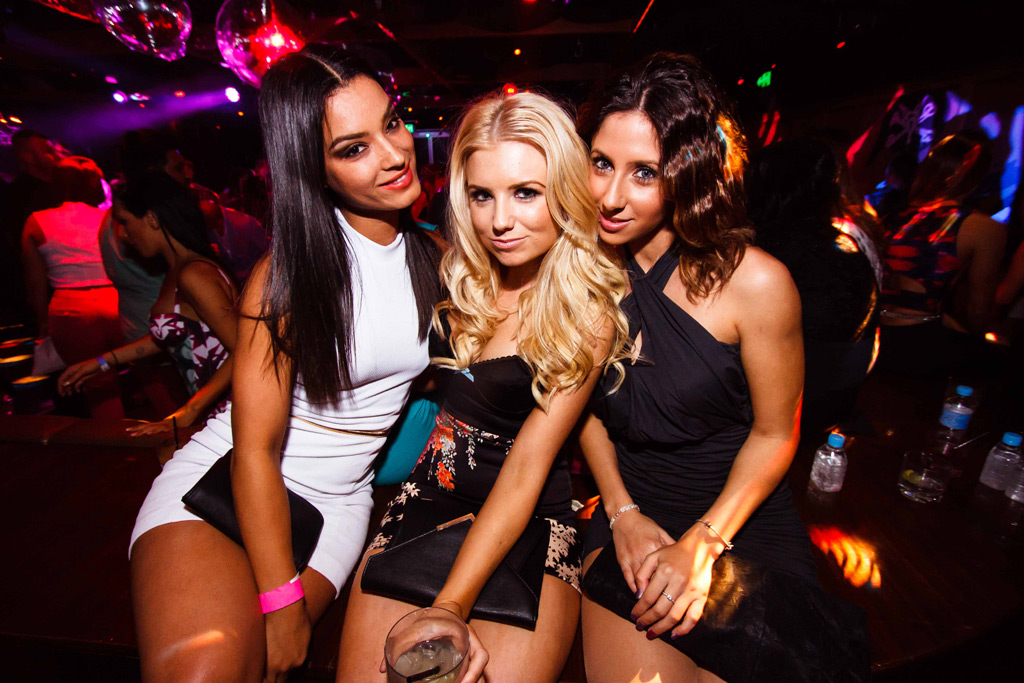 Girls In Night Club In Sydney Australia