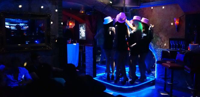 Galeria Strip Piccolo Bar Club Vienna
