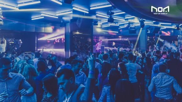 Girls In Night Club In Cluj-napoca Romania