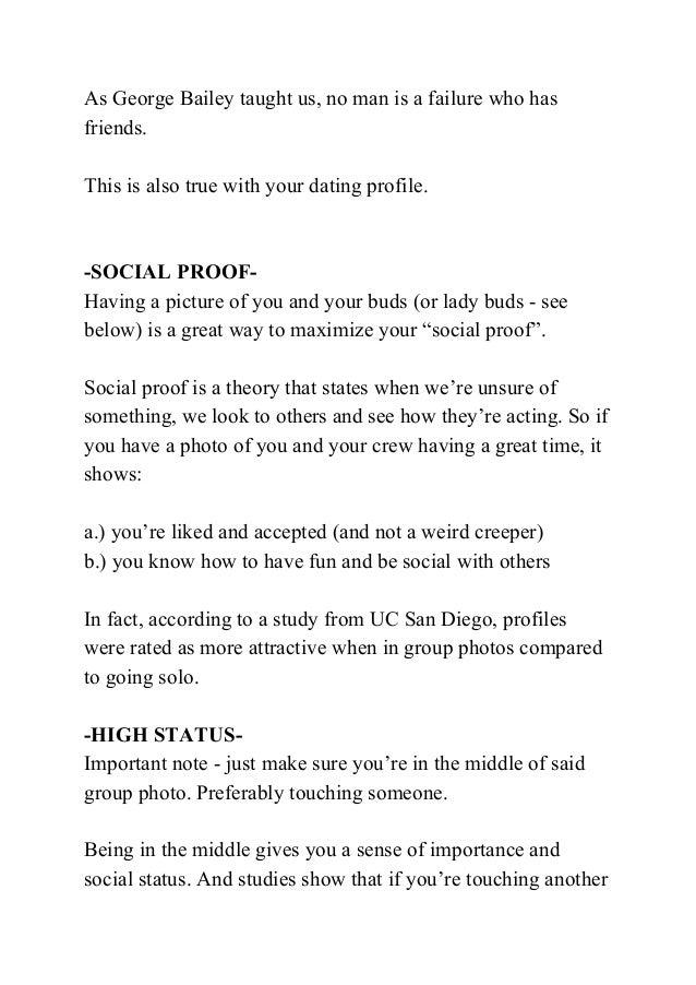 Genes Dating Perfect Profile Man