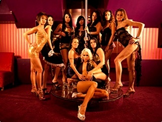 Girls In Night Club Piranha Brno Strip