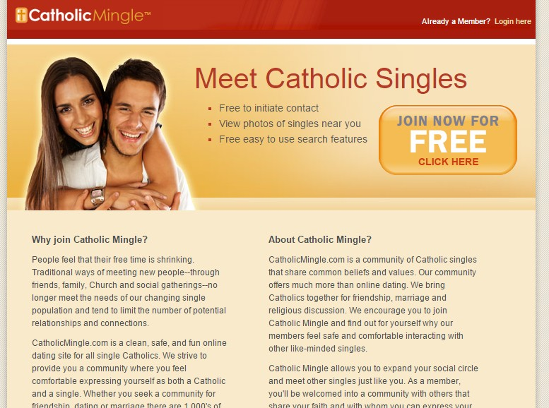 Catholic Dating Looking For Men In Vancouver