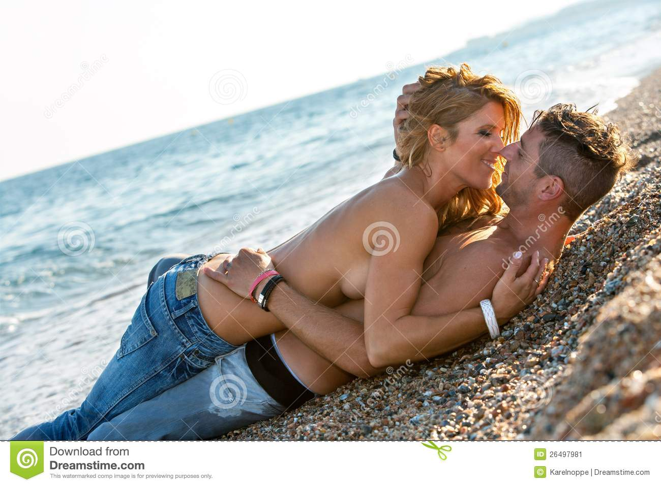 Woman Couples Deerfiled Beach