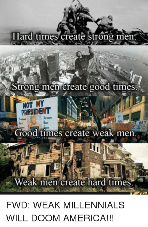 Hard Times Create Strong Women W