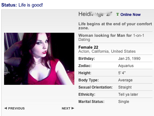 Profile For Online Dating Best Tips