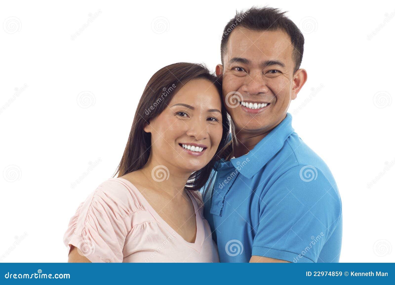 Manhattan Couple Only Couple 4 White Asian
