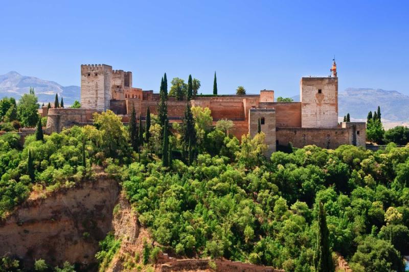 Granada Spain Alhambra Agency Escort