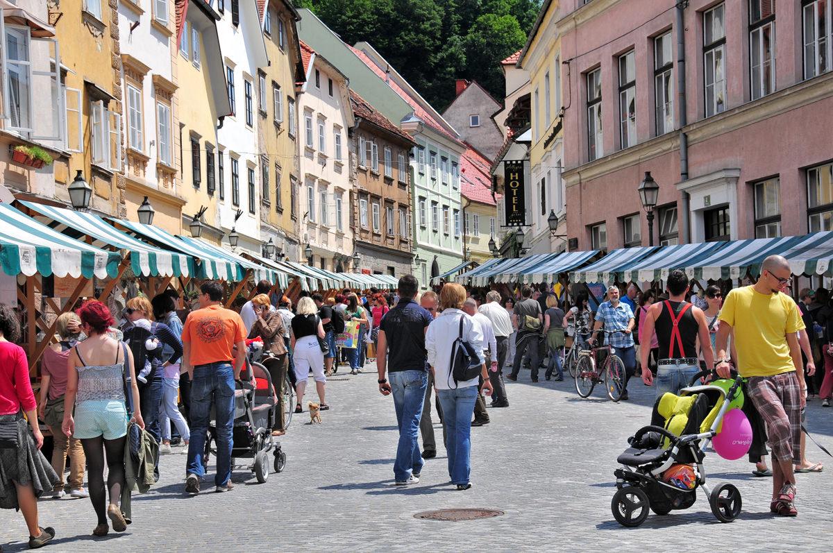 In Slovenia Ljubljana Shops Sex