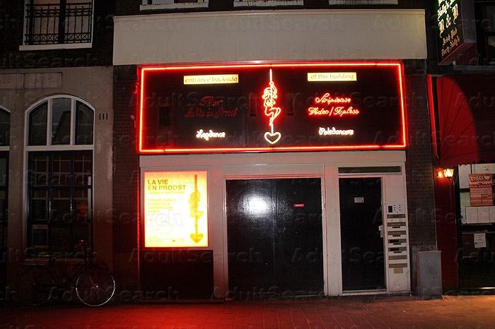 Malio Bar Club Bananen Amsterdam Strip