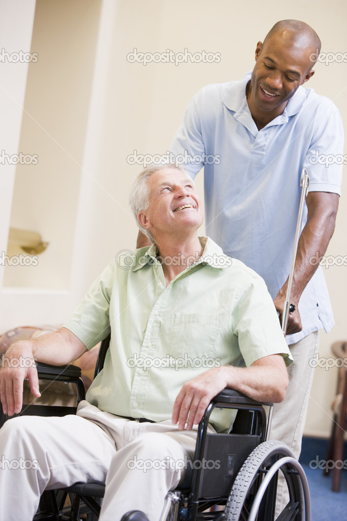 Reconnect In Vagus Companion Wheelchair To Man Looking