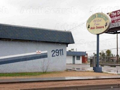 Hampton Lounge Club Phoenix Strip Moon Blue