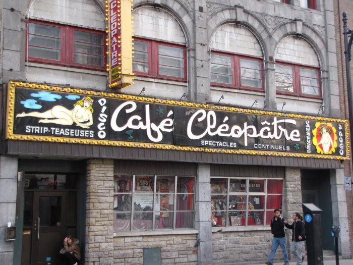 Tri Club Montreal Caf Cleopatra Strip