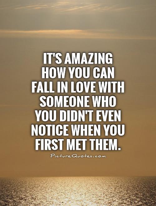 Amazing Meet Someone