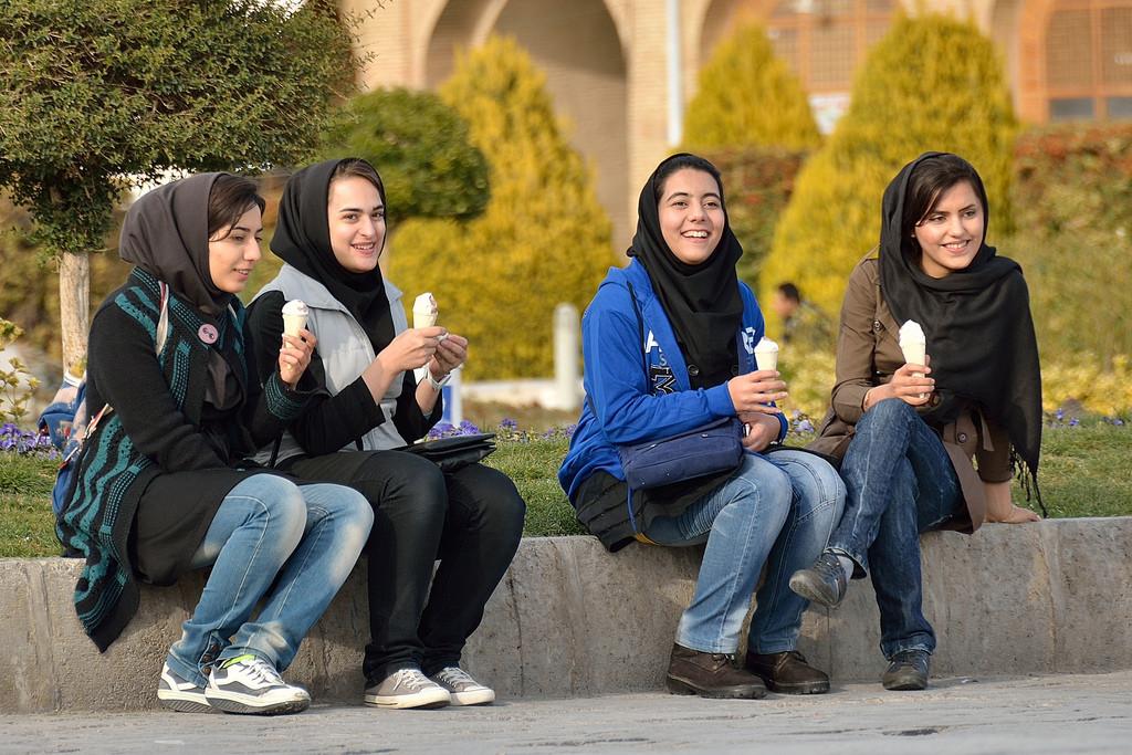 Girls In Night Club In Tehran Iran