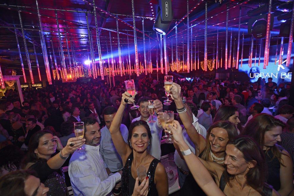 Girls In Night Club In Lisbon Portugal
