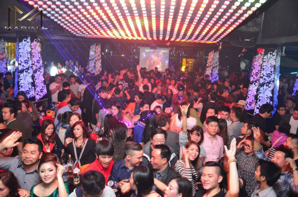 Perry In Laos In Girls Night Club Vientiane