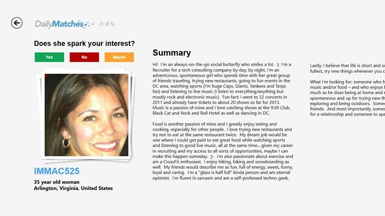 Good Dating Profiles Samples