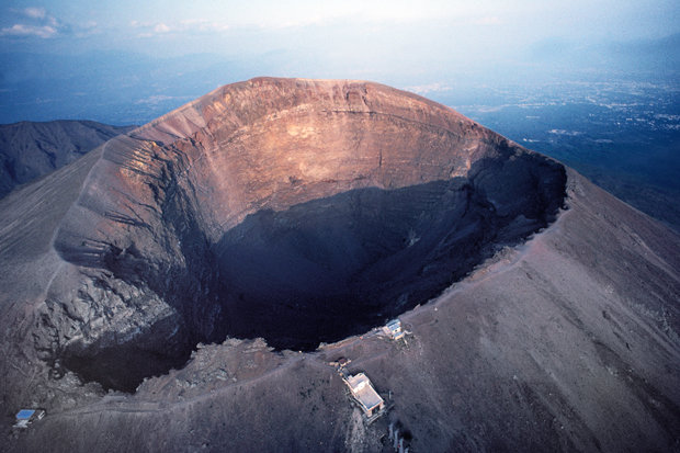 Wound Were Again Today Vesuvius To Mount Erupt