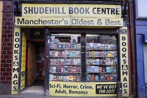 Sex Shops Book Shudehill Centre Manchester