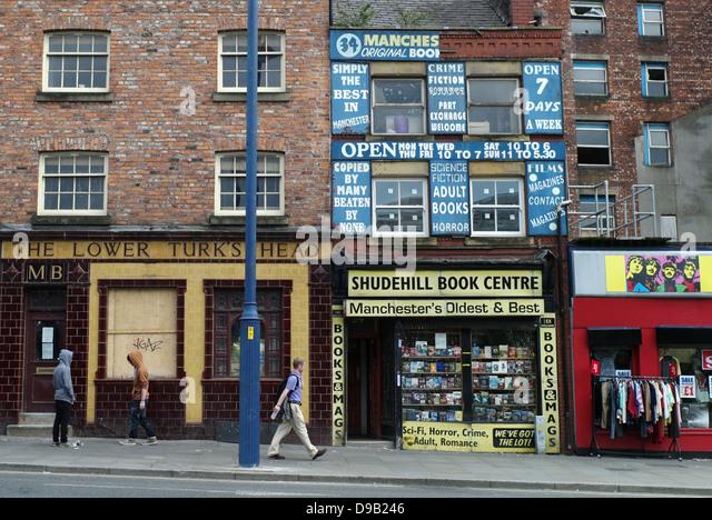 Manchester Sex Book Shops Shudehill Centre