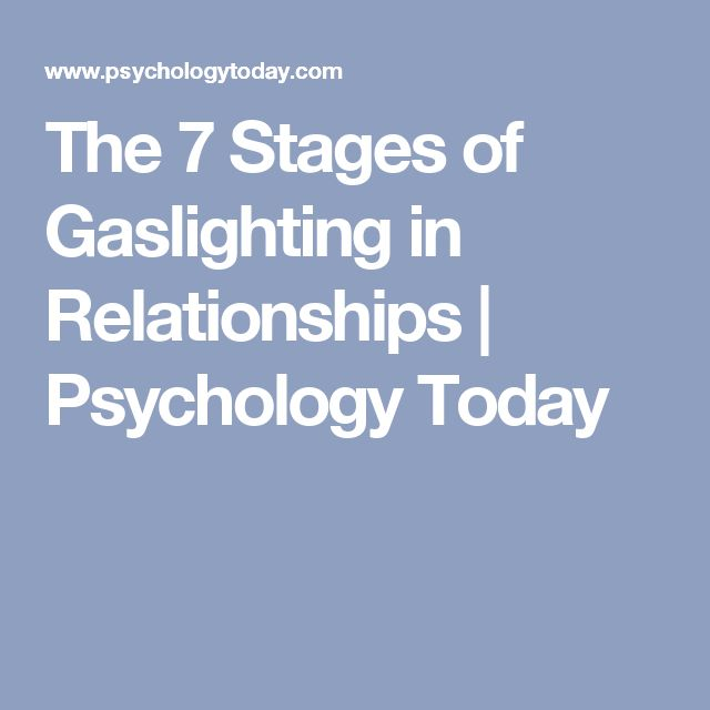 Of Psychology Stages Dating