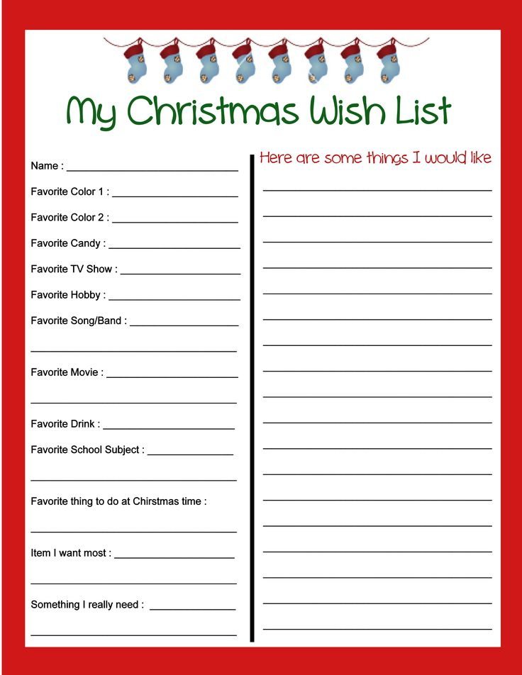 Yalls Whats Christmas List? On